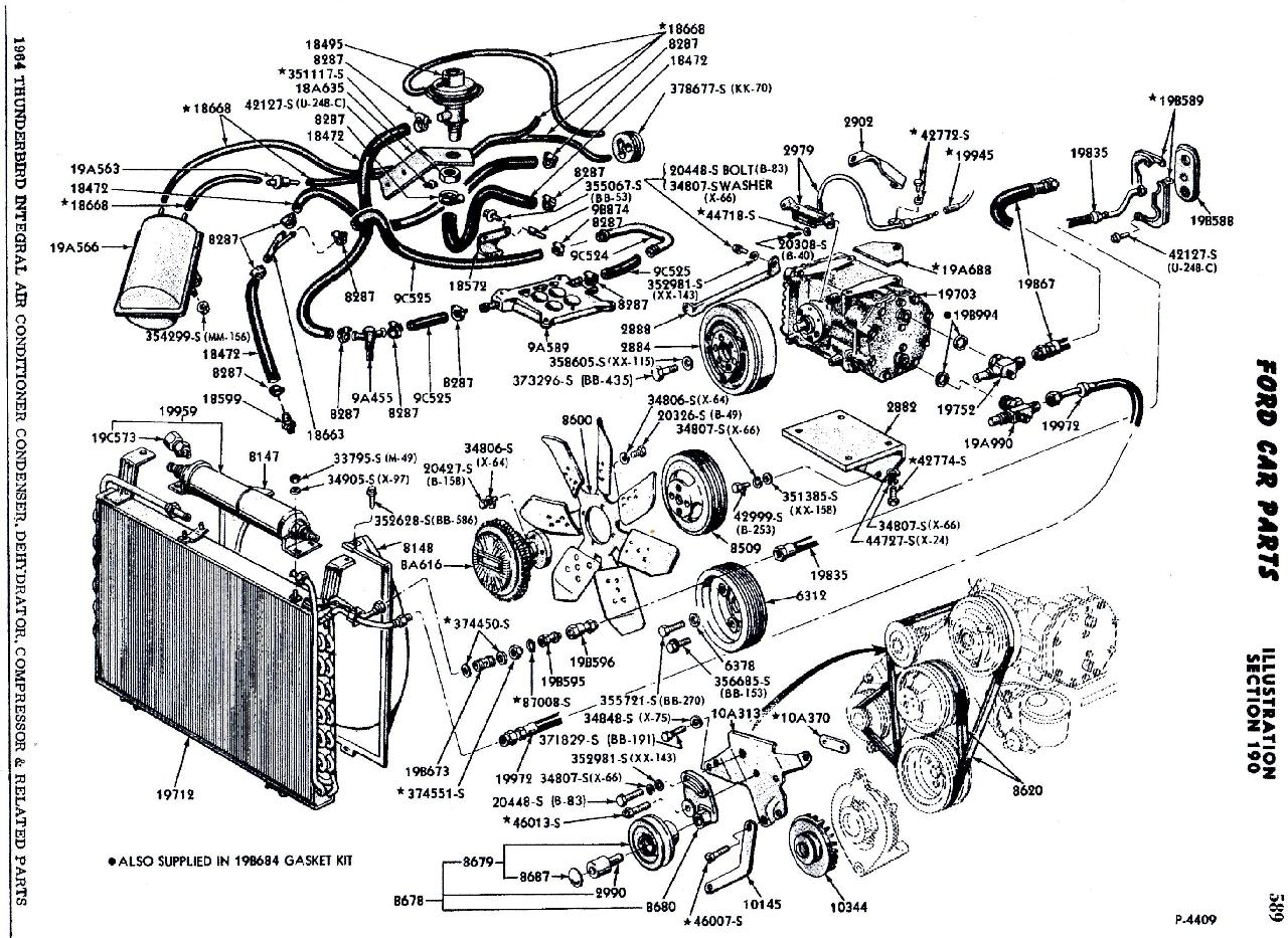 Thunderbird Engine Diagram Free Printable