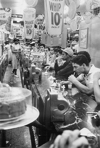 Coffee Shop, 1956