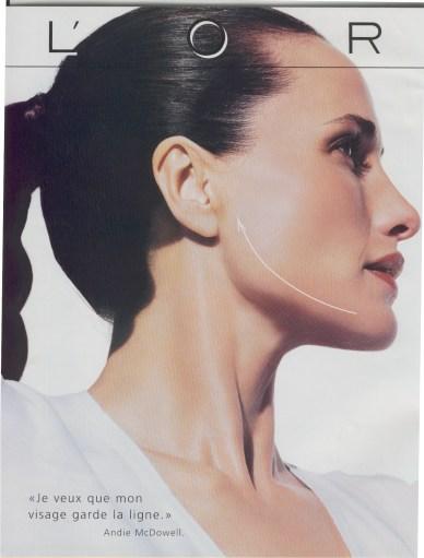 No double chin