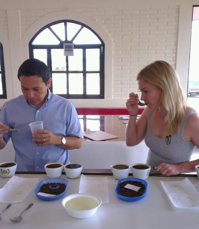 Cupping with Luis Alberto