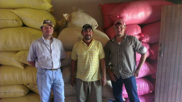 Francisco Antonio Castillo, Mario and Carlos Mejia