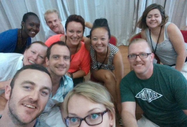 Jury selfie after 40 coffees in a morning