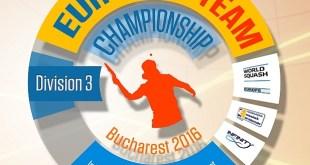 campionatul european de squash pe echipe - bucuresti 2016