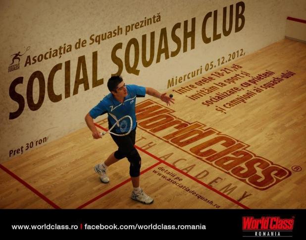social squash club start