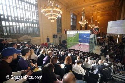 Tournament of Champions Squash, Grand Central Terminal, New York