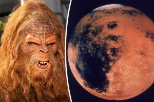 NASA Mars Video - CONVINCED: Alien hunters believe they have found proof of life on Mars with bigfoot skull find | photo: GETTY