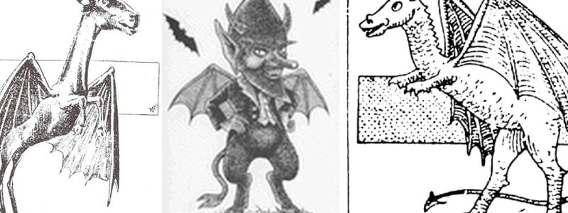 The Jersey Devil has been reported in many different forms