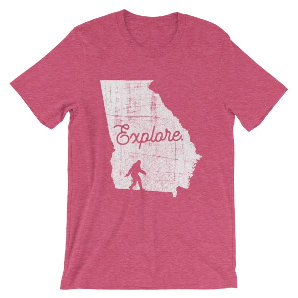 Heather berry explore Georgia Bigfoot t-shirt