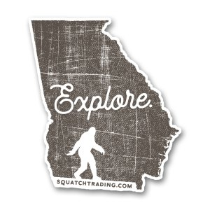 Explore Georgia Sticker