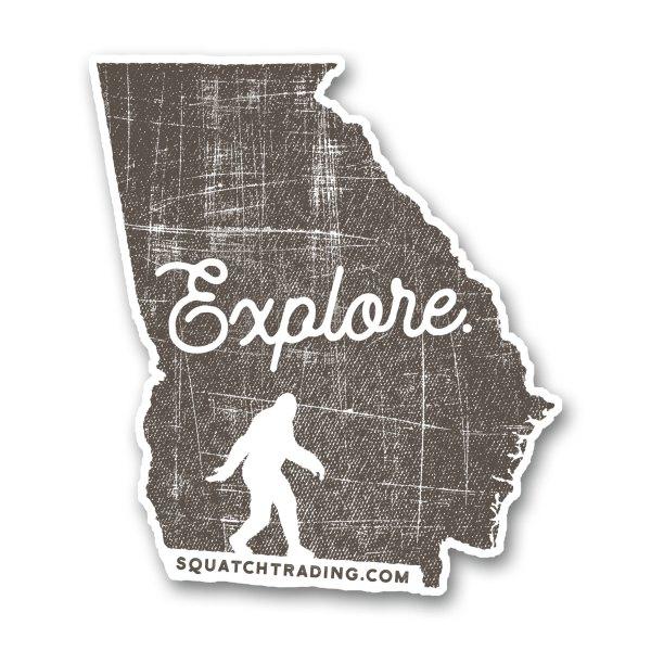 Explore Georgia Sticker