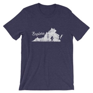 Explore Virginia Bigfoot Shirt