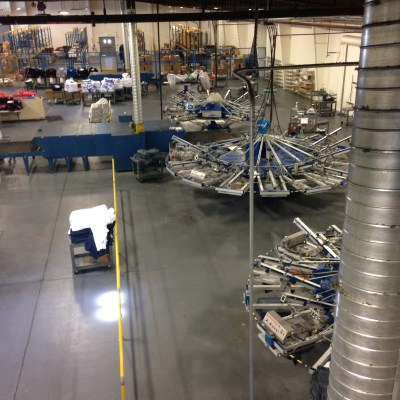 State of the art production facility, Motion Textile