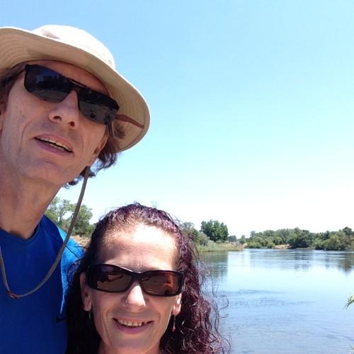 Diana and Phillip at Lake Natoma