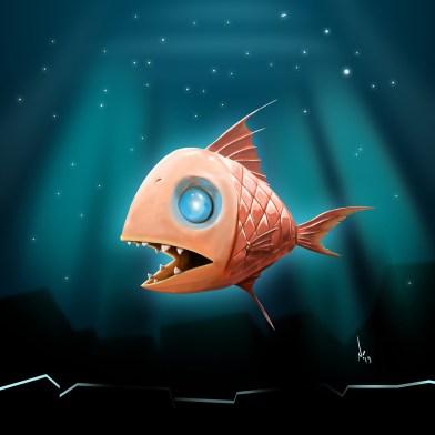 puzzled fish