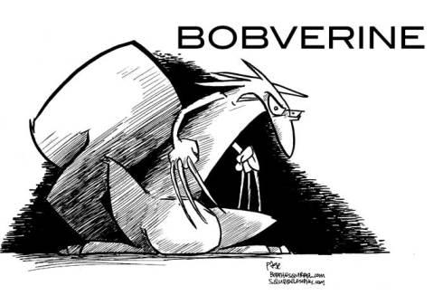 bobverine... wolverine's cousin...
