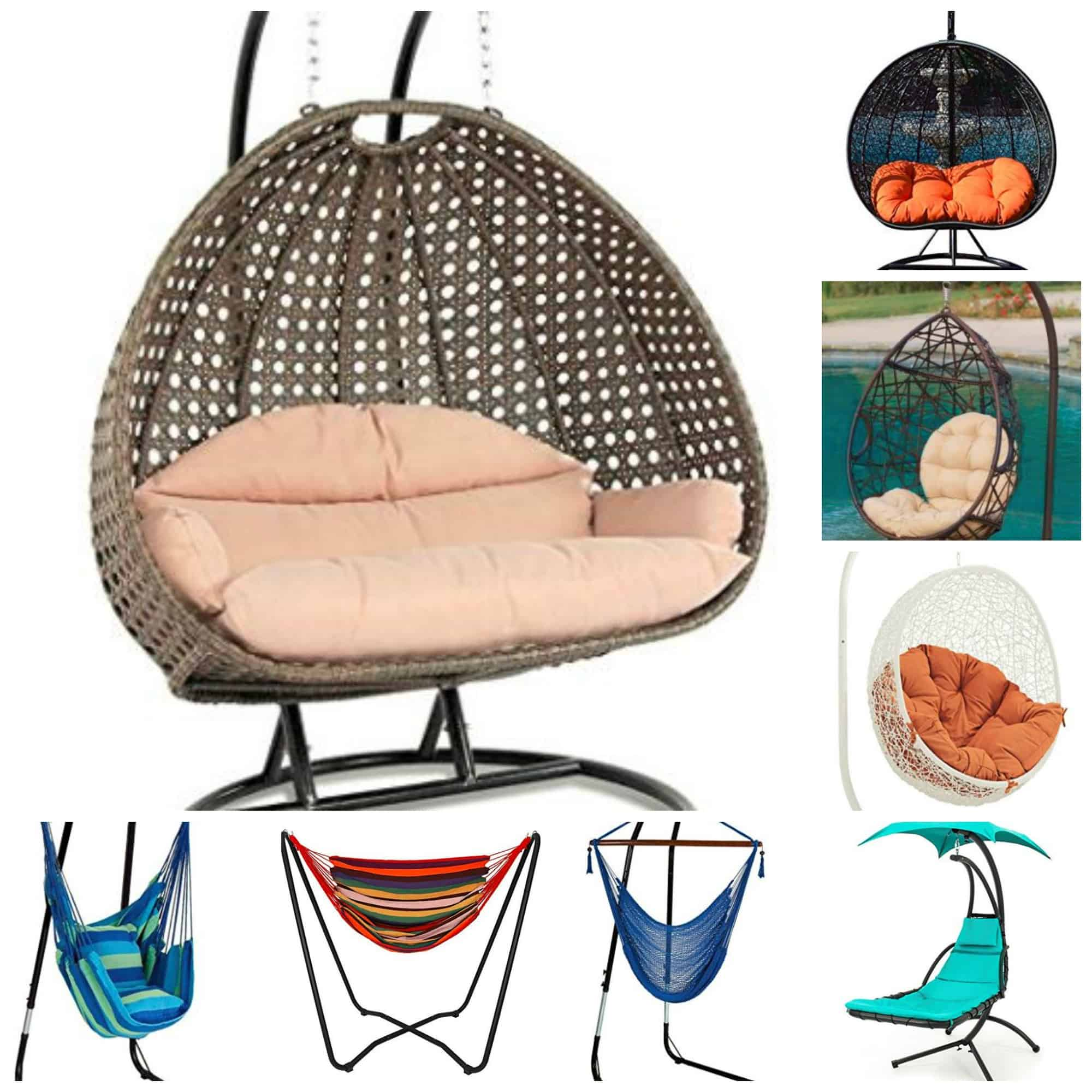 9d33636688d Ten Best Outdoor Hanging Chairs With Stands  Serious Relaxation!
