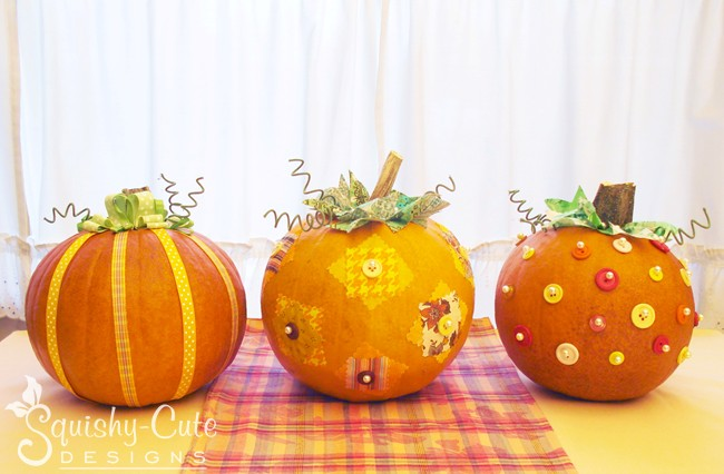 Pumpkins Are One Of My Favorite Ways To Decorate Because They So Darn Easy But
