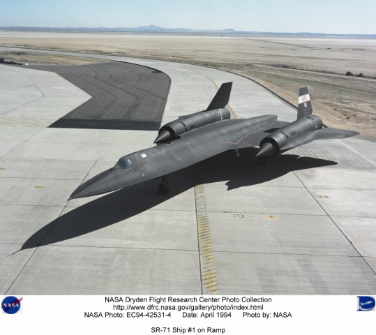 SR71 Evergreen Aviation Museum