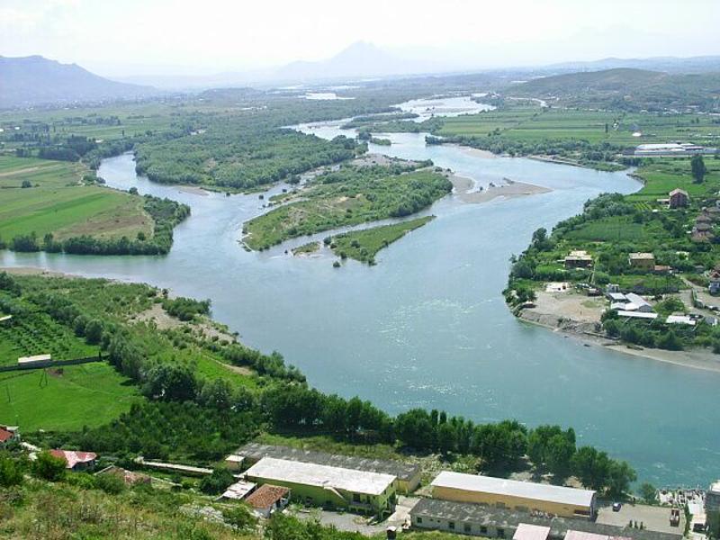 Река Дрим код Скадра