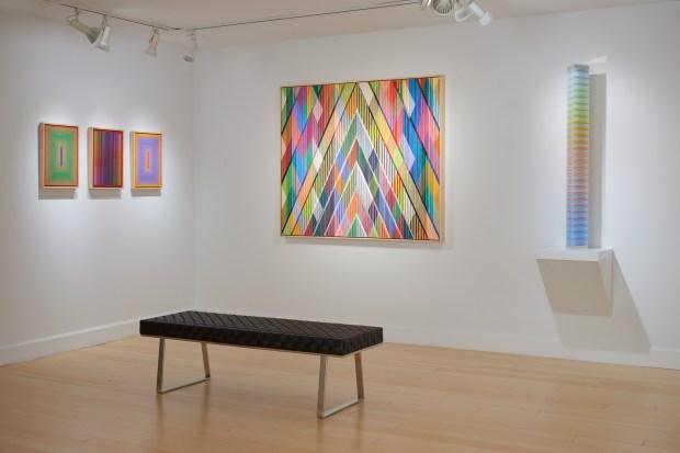 interior Scott Richards Contemporary Art gallery