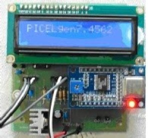 PIC controlled DDS Signal Generator