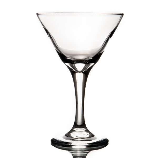 Glassware- 9 oz. Martini glass