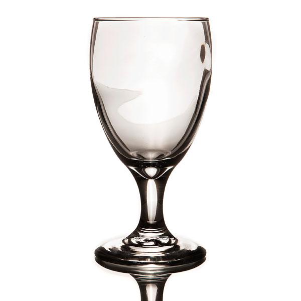 Glassware- Teardrop water glass