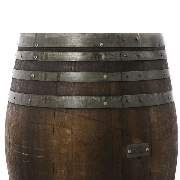 Wine barrel detail