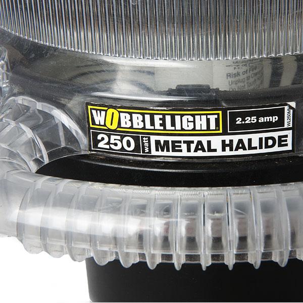 Wobble Light label close up