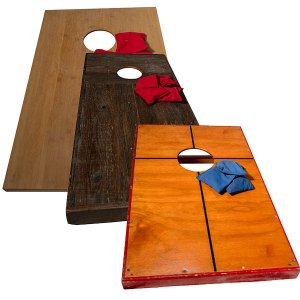 Corn hole- bean bag toss outdoor game in 3 styles