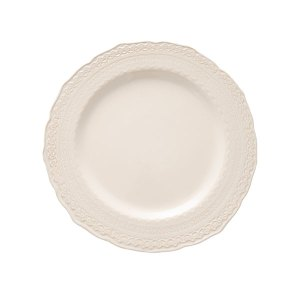 Sierra Lace luncheon plate is a beautiful lace-edged china that is perfect for your lunch, tea, or light dinner. 10 plates per order of 1.
