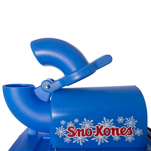 Sno cone machine up close