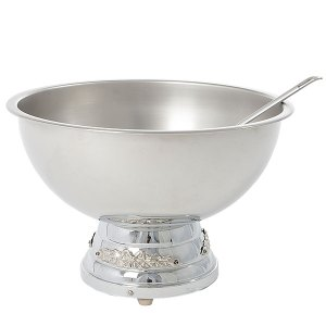 2 Gallon punch bowl with ladle