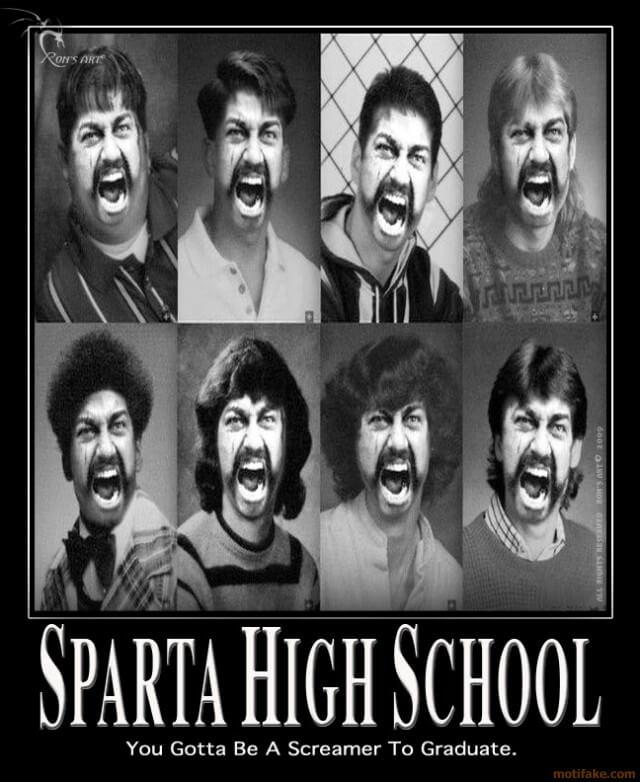 Srednja škola u Sparti