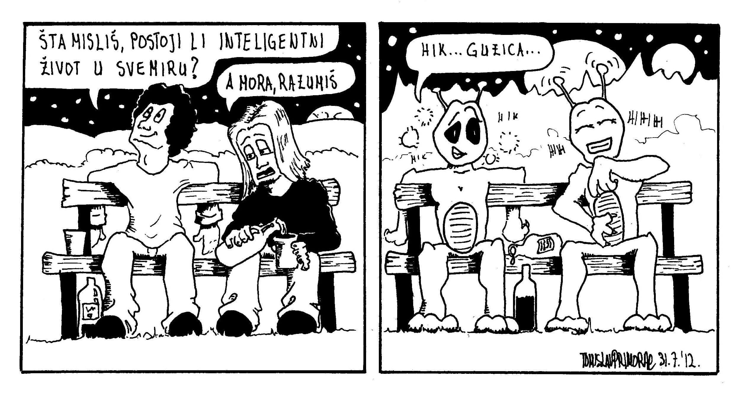 Splitski student oduševljava kratkim humorističnim stripovima
