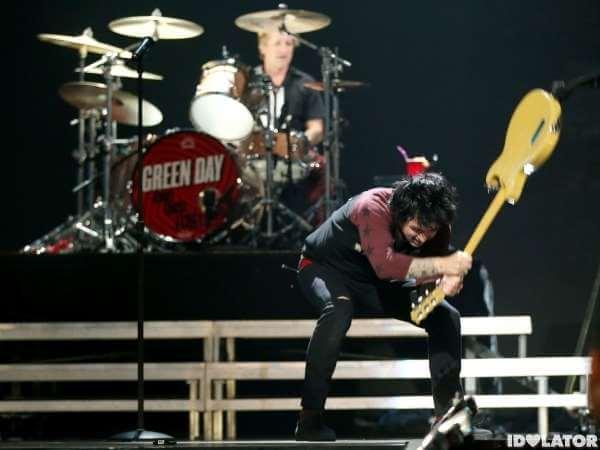Green Day poludio na festivalu u Las Vegasu