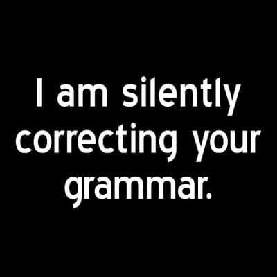 Ispovijest Grammar nazija: ispravljam ljude i radim pozitivnu stvar