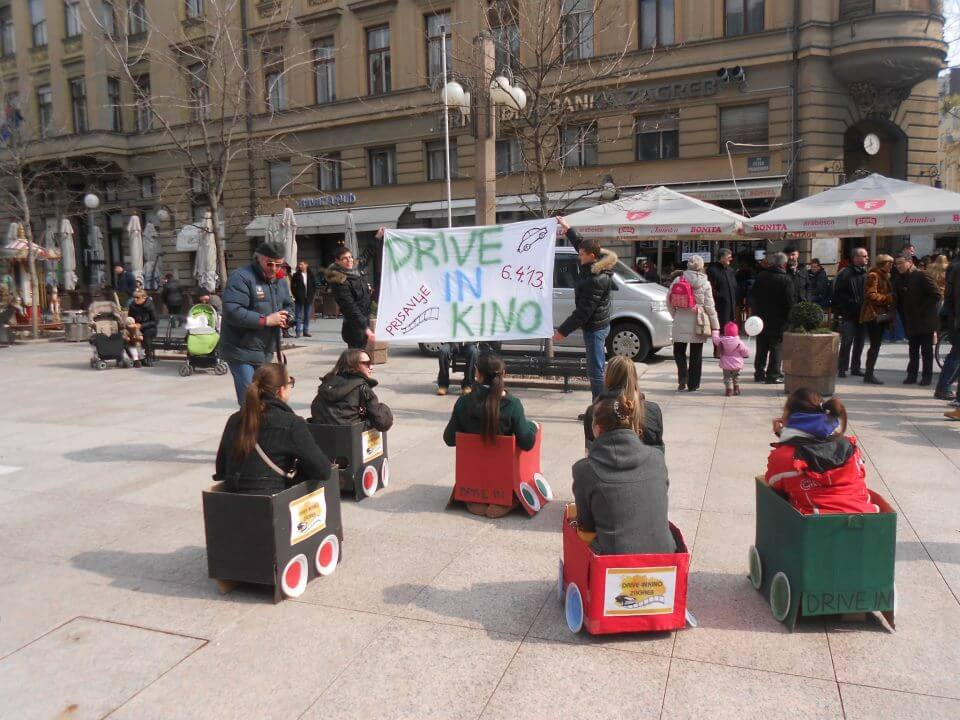 Studenti organiziraju Drive IN kino u Zagrebu
