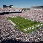 Pennsylvania State University,Beaver stadium - 107 282 sjedeća mjesta