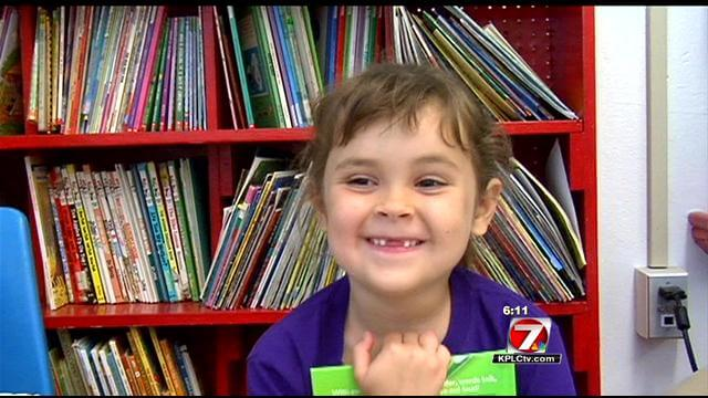 Petogodišnja djevojčica u godinu dana pročitala 875 knjiga!