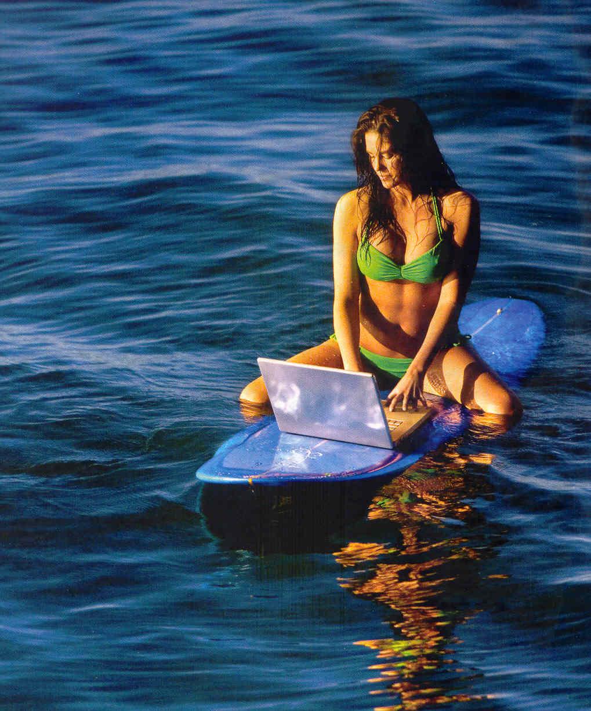 To je pravo surfanje: Znanstvenici testiraju bežični internet ispod vode