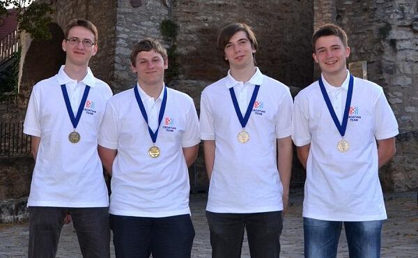 Dva srebra i dvije bronce za mlade hrvatske informatičare