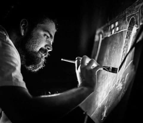 Zbog svojih je futurističkih radova pozvan na izložbu u Njemačku: Intervju s mladim akademskim slikarom