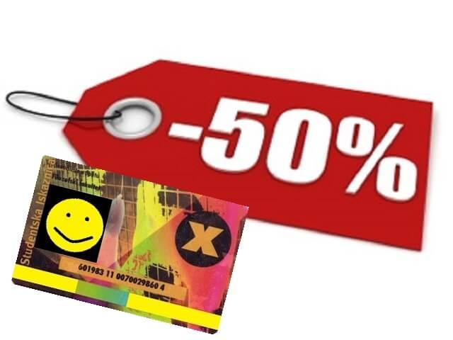 Pregled popusta: Kazališne karte za svaki džep
