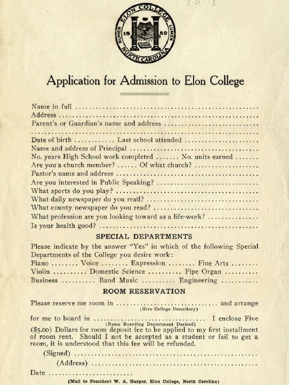 Ovako je izgledala fakultetska prijavnica 1922. godine