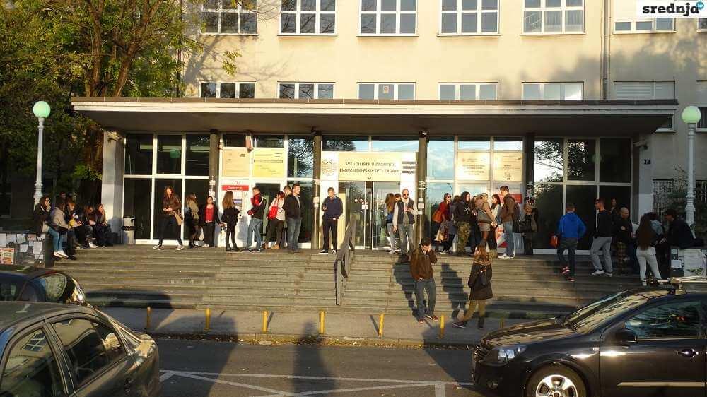Ovo je deset najvećih hrvatskih fakulteta po broju studenata