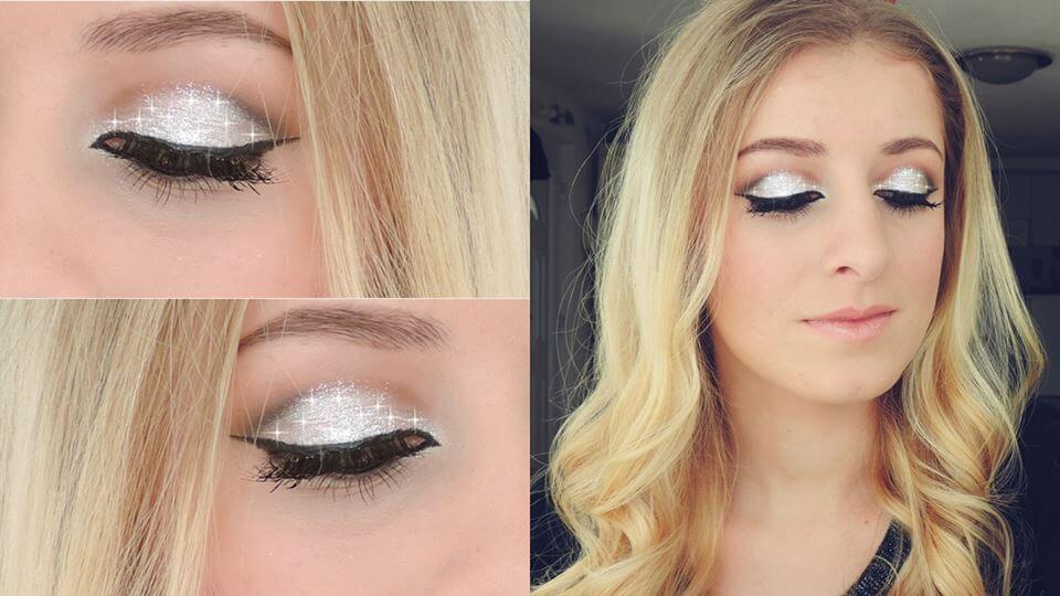 Novogodišnji makeup & hair tutorial