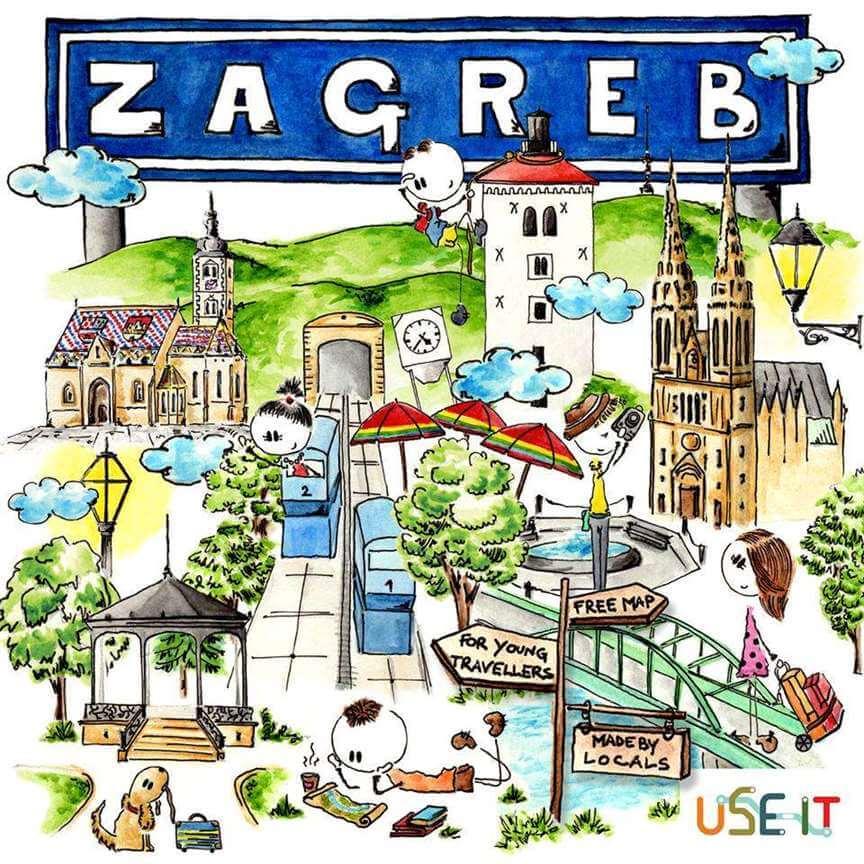 Sve informacije o Zagrebu mladim putnicima od sada dostupne na USE – IT karti