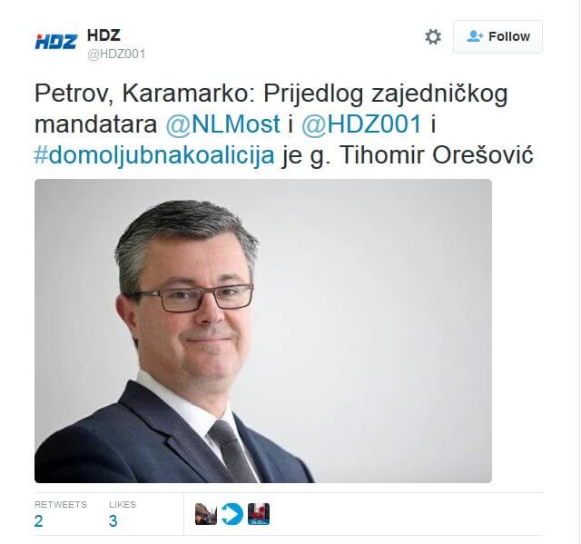 Mandatar Tihomir Orešković studirao je na prestižnom svjetskom Sveučilištu