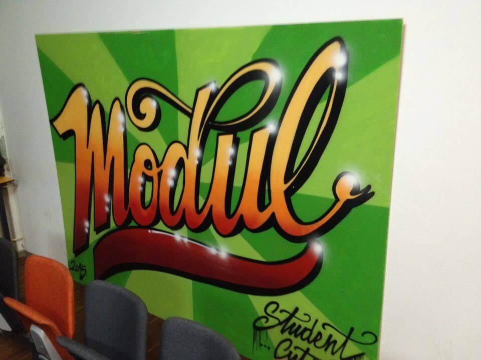 Malu dvoranu na TVZ-u krasi uradak jednog od naših najpoznatijih grafitera